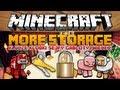 Minecraft 1.6.2 Mody - More Storage Mod - Klucze, Kłódki, Sejfy, Gabloty i więcej!