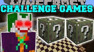Minecraft: THE JOKER CHALLENGE GAMES - Lucky Block Mod - Modded Mini-Game