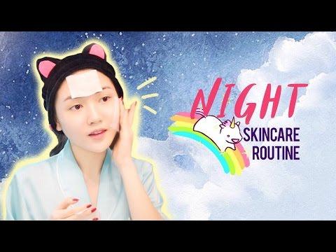Các Bước Dưỡng Da Ban �êm - Night Time Skincare Routine | Chloe Nguyen