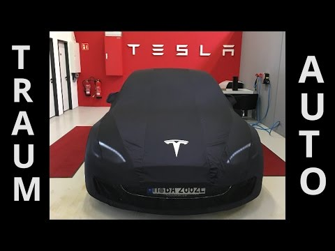 Tesla Model S 90D Unboxing - Mein Traumauto ist endli ...