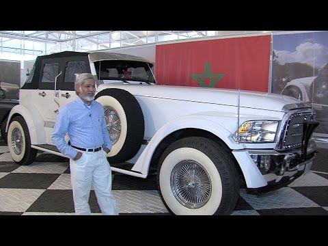 متحف للسيارات الكلاسيكية بالرباط يسافر بزواره عبر الزمن