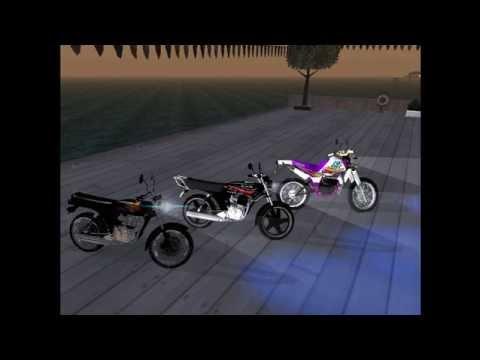 pack 2 de motos venezolanas para gta san andreas