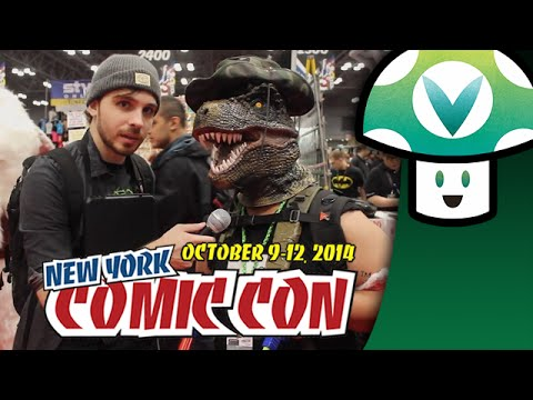 comic con - Trivia, cosplay, shitty prizes, a world destroying dog and a horn/kazoo duet. Truly this is the pinnacle of event coverage. Thanks to Richmond94 for the shroom on the video thumbnail.