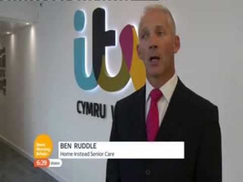 Home Instead on ITV News Wales – Heatwaves and the Elderly