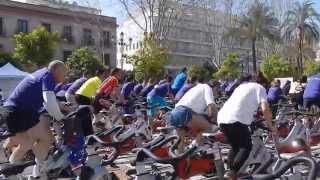 I Pedaleo Solidario por la ELA - Sevilla