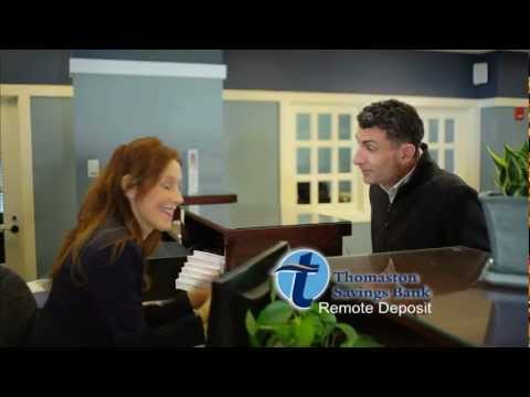 Bank commercial with live actors Thomaston Savings Bank