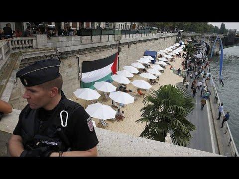Παρίσι: Διαδήλωση κατά της εκδήλωσης «Το Τελ Αβίβ στο Σηκουάνα»