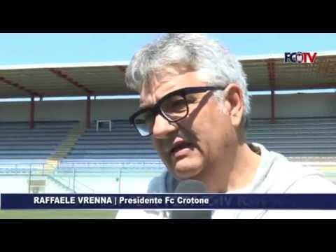 """Serie B. Crotone, Vrenna """"miglior presidente"""" dell'anno: e domenica allo stadio con 2 euro"""