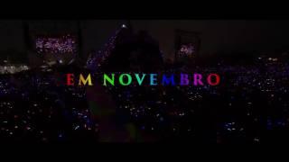 Eles estão de volta! Em Novembro, Coldplay no BRASIL; Dia 7 no Allianz Parque, São Paulo. Dia 11 na Arena do Grêmio, Porto...