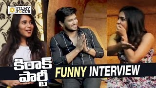 Video Kirrak Party Team Funny Game || Nikhil, Samyuktha, Simran, Deepthi Sunaina - Filmyfocus.com MP3, 3GP, MP4, WEBM, AVI, FLV Maret 2018