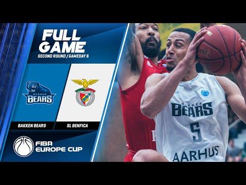 Bakken Bears v SL Benfica - Full Game - FIBA Europ...