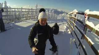 Poiana Brasov Romania  City pictures : First time skiing 2014, Poiana Brasov, Romania