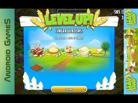 Hay Day Level 67 Update 43 HD 720p (видео)