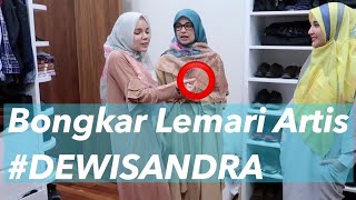 Video BONGKAR LEMARI ARTIS #2 Dewi Sandra MP3, 3GP, MP4, WEBM, AVI, FLV Februari 2019