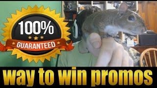 This a proven method of winning promotional games.Proof - http://imgur.com/a/2oBUyI started winning 70% more games and just skyrocketed in ELO, this is the most effective way in getting to higher ranks.I've learned that a majority of Pro players have squirrels on their backs during the LCS in order to play at maximum potential.Please make sure to like the video!1 like = 1 Cashew for Jondar!