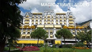 Montreux Switzerland  city photos gallery : Montreux tour - Switzerland - Grand Hotel Suisse Majestic