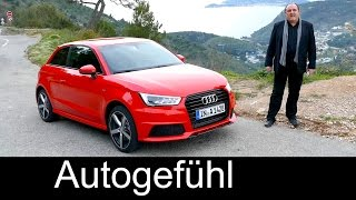 2016/2015 Audi A1 (Sportback) Facelift Test Driven FULL REVIEW - Autogefühl