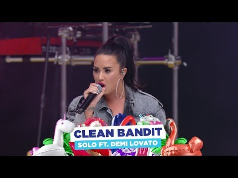 Clean Bandit - 'Solo' Ft. Demi Lovato (live At Capital's Summertime Ball 2018)