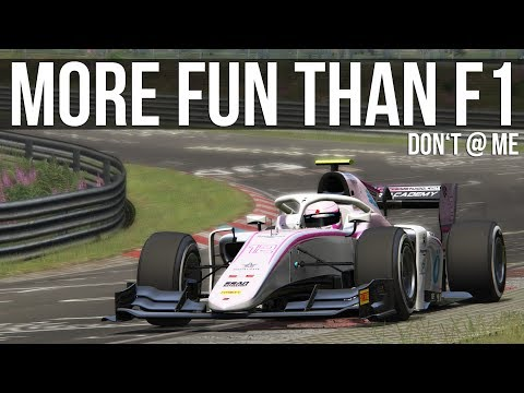 How Fast Can A Baby Formula 1 Lap The Nordschleife?
