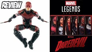 Review da figura de ação do Demolidor - Daredevil lançado na coleção Marvel Legends Marvel Knights wave Man-Thing ...