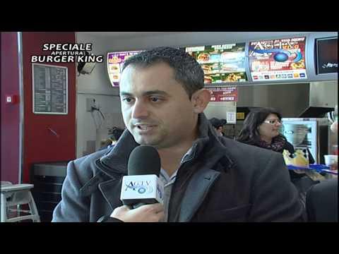 Speciale apertura Burger King al centro commerciale News-AgrigentoTV