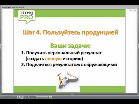 7 шагов к успеху, и процветанию. Компания TMP (txtmsgpro)