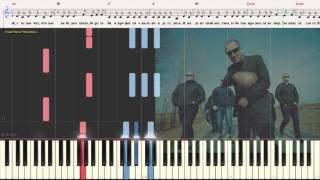 Тает Лёд - Грибы (Ноты и Видеоурок для фортепиано) (piano cover)