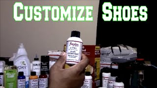 How To Customize Shoes! EAD Customs Documentary Part 1Shop Current EAD Customs Here http://bit.ly/ShopEADCustomsAngelus Leather Paint Products and  Supplies https://angelusdirect.com?rfsn=575175.fbefe488See more of EAD Customs on Instagram: @eadcustomsCheck out my Blog http://www.Create4Cash.comLike, Comment, Subscribe!Instagram @eadcustomsEmail eadcustoms@gmail.com