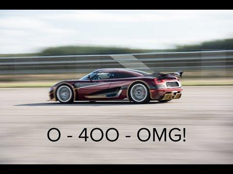 Koenigsegg Agera RS 0-400-0