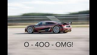 Video Koenigsegg Agera RS 0-400-0 MP3, 3GP, MP4, WEBM, AVI, FLV November 2018
