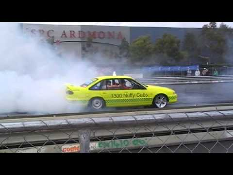 1300 nuffy cabs burnout spring nats 2013