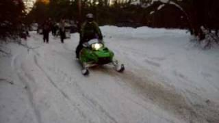 3. Arctic Cat ZR 1010 BIG BORE Wheelies