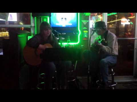 Becky Boyd and Randy J. Daniels @ Dina's Pizza (1-19-16)