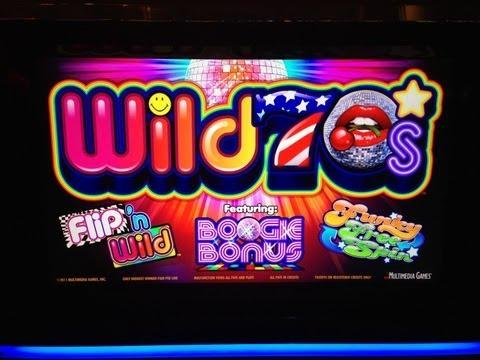Wild 70s NEW penny slot machine at Borgata - Funky Free Games bonus win - new penny slots