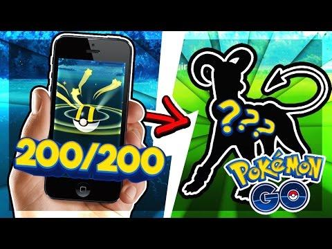200 UNIQUE POKEMON CAUGHT + NEW POKEMON! (Pokemon Go)