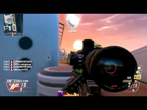 Black Ops 2 Online Multiplayer Sniper Quick Scope Montage/Gameplay [Community]