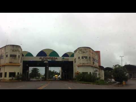 Aduana fronteira Brasil-Peru ... Assis Brasil/Acre - Iñampari/Madre de Dios/Peru