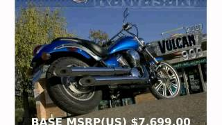 3. 2009 Kawasaki Vulcan 900 Custom  Engine Top Speed