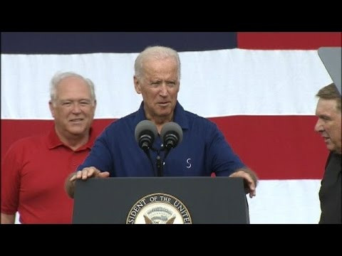 Joe Biden's entire Labor Day Address.