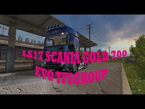 LS17 SCANIA GOLD 700EVO TFSGROUP