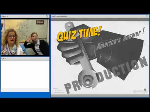 The Post Industrial Revolution and WWII: Mass Production on the Home Front Webinar