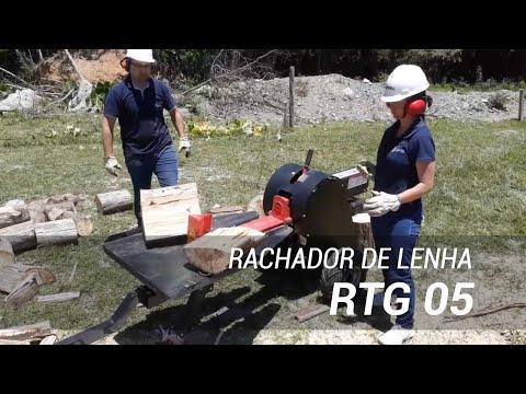 Rachador de lenha de alta velocidade RTG 05