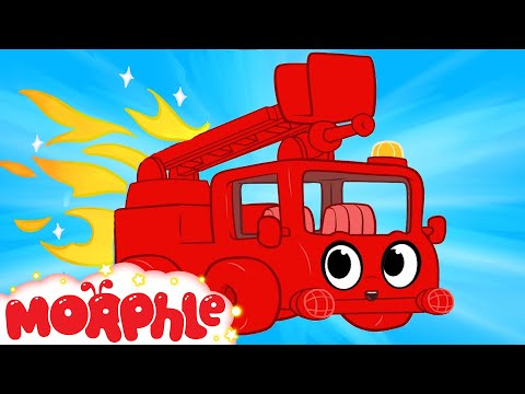 gratis download video - My-Red-Fire-truck--1-hour-kids-videos-compilation--My-Magic-Pet-Morphle