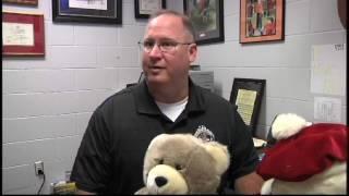 Sheriff's Office Gets Stuffed Animals