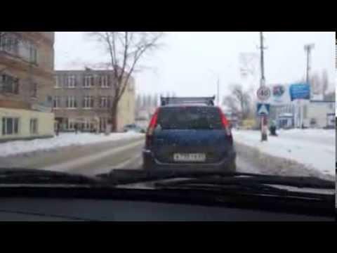 8 февраля в Марксе - 2 аварии в течении часа (видео)