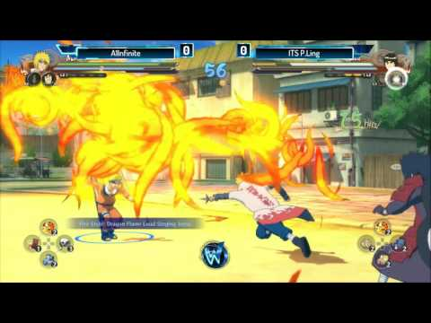 Naruto Shippuden: Ultimate Ninja Storm 4 - A1lnfite VS. ITS P.Ling | Top 8 | WW Austin 2016
