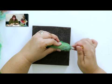 DIY Create a Needle Felted Hummingbird