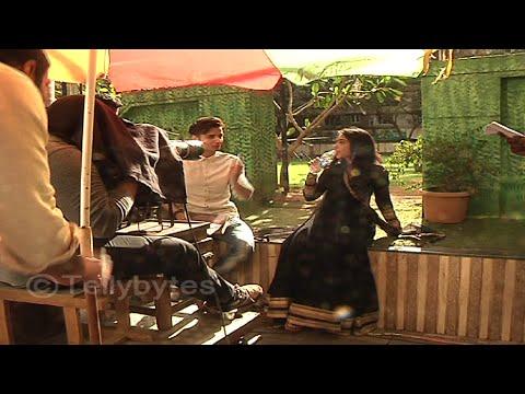 Sidhart Gupta and Niti Taylor shoots for Pyaar Tun