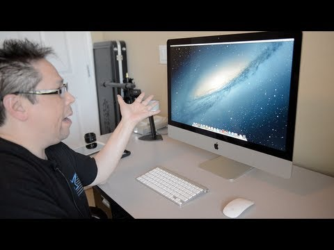 Imac - I joined Maker Studios & so can you! Click here to see if your channel qualifies for RPM Network/Maker Studios: http://awe.sm/cDu0M Today I went from my MacB...