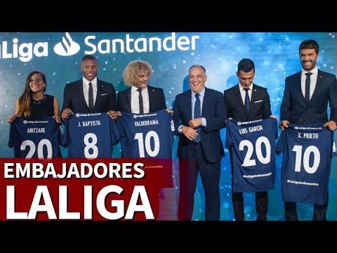 LaLiga presentó a los nuevos embajadores para este año